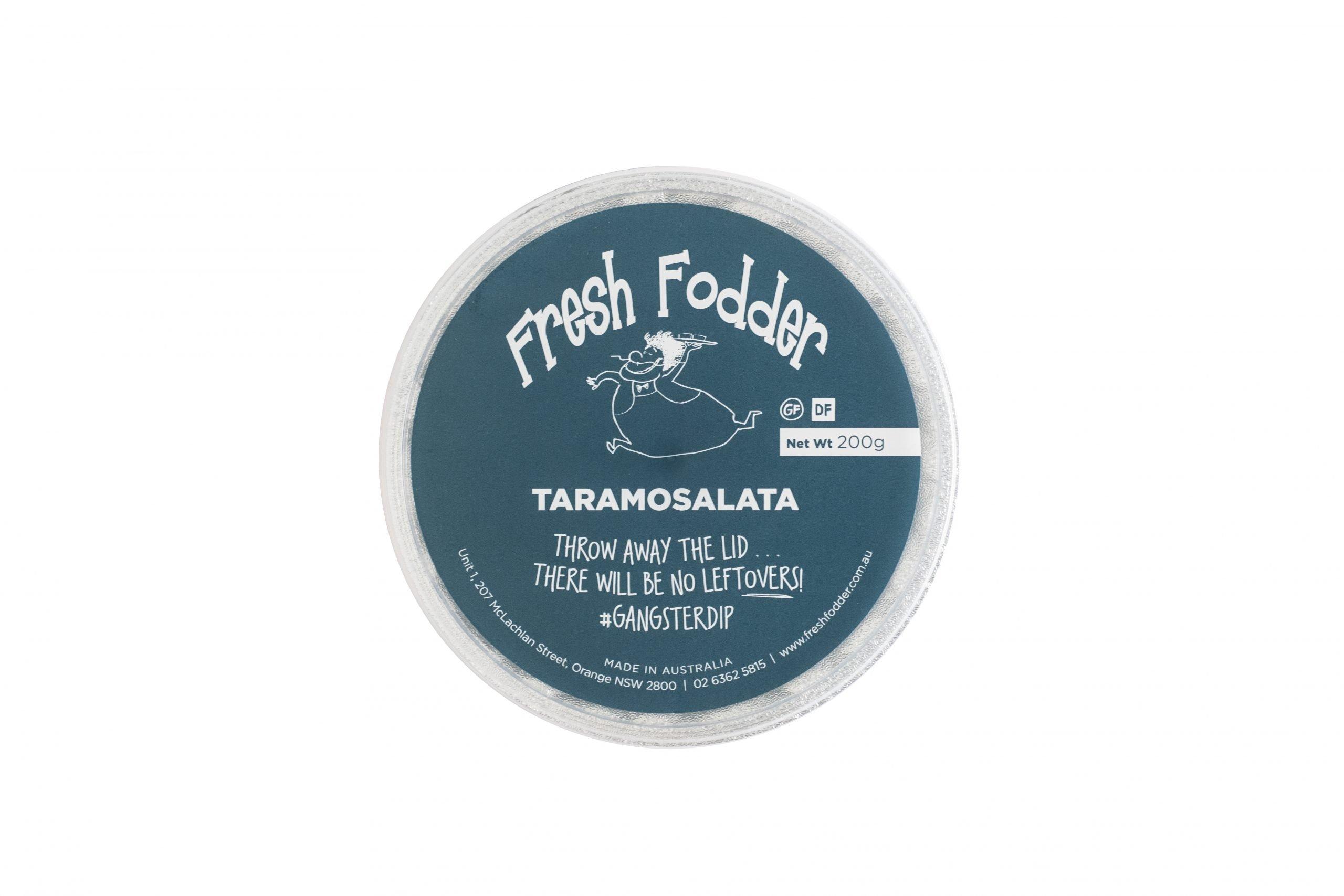 Fresh Fodder - Taramosalata GF DF - 200g - Top