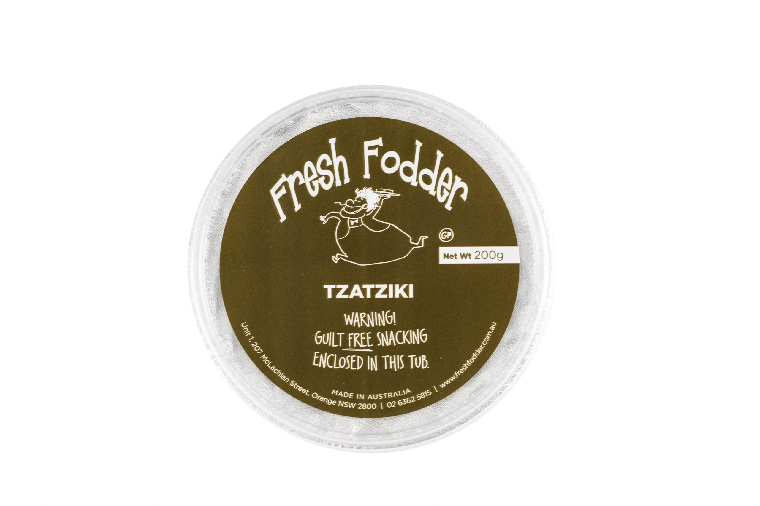 Fresh Fodder - Tzatziki GF - 200g - Top
